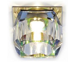 Встраиваемый светильник Ambrella Glass 9 D1041 G/MULTI