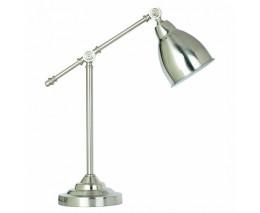 Настольная лампа офисная Arte Lamp Braccio A2054LT-1SS