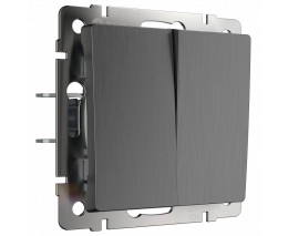 Выключатель двухклавишный без рамки Werkel W112 7 W1120004