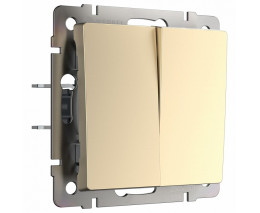 Выключатель двухклавишный без рамки Werkel W112 6 W1120011
