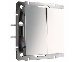 Выключатель двухклавишный без рамки Werkel W112 4 W1120002