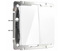 Выключатель двухклавишный без рамки Werkel W112 4 W1122001