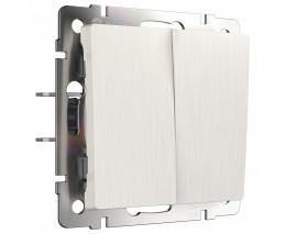 Выключатель двухклавишный без рамки Werkel W112 3 W1120013