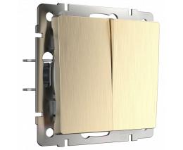 Выключатель двухклавишный без рамки Werkel W112 2 W1120010