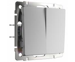 Выключатель двухклавишный без рамки Werkel W112 1 W1120006