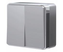 Выключатель двухклавишный Werkel Gallant W5020006
