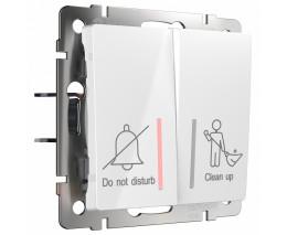Выключатель двухклавишный без рамки Werkel W111 4 W1120801