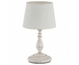 Настольная лампа декоративная Alfa Roksana White 18538