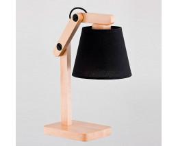 Настольная лампа декоративная Alfa Joga Black 22718