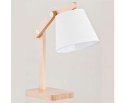 Настольная лампа декоративная Alfa Joga White 23978