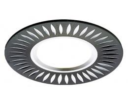 Встраиваемый светильник Ambrella Classic A507 A507 BK/AL