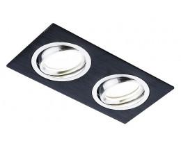 Встраиваемый светильник Ambrella Classic A601 A601/2 BK