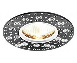 Встраиваемый светильник Ambrella Classic A801 A801 BK/AL