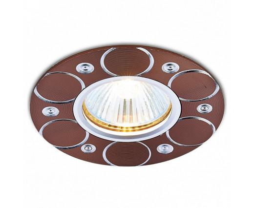 Встраиваемый светильник Ambrella Alum 4 A808 AL/BR
