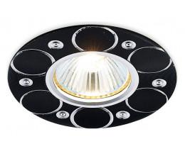 Встраиваемый светильник Ambrella Classic A808 A808 BK/AL