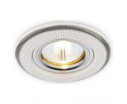Встраиваемый светильник Ambrella Ceramo D5531 W/BK