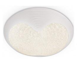 Накладной светильник Ambrella Orbital Crystal Sand FS1223 WH 48W D400