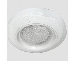 Накладной светильник Ambrella Orbital Crystal Sand FS1233 WH/SD 48W D390