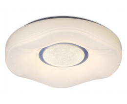 Накладной светильник Ambrella Orbital Crystal Sand FS1236 WH 48W D390