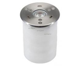 Встраиваемый в дорогу светильник Arlight KT-AQUA-R85-7W Warm3000 (SL, 25 deg, 12V) 024938