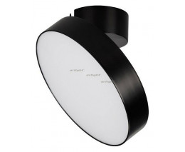 Потолочный светодиодный светильник Arlight SP-RONDO-FLAP-R210-20W Warm3000 (BK, 110 deg) 028165