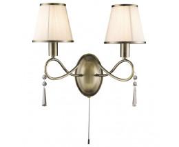 Бра Arte Lamp Logico A1035AP-2AB