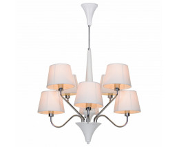 Люстра на штанге Arte Lamp 1528 A1528LM-8WH