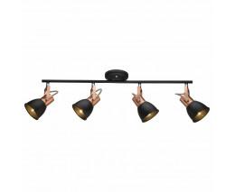 Спот Arte Lamp 1677 A1677PL-4BK
