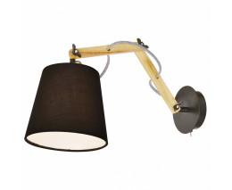 Гибкий светильник Arte Lamp Pinocchio A5700AP-1BK
