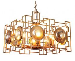 Подвесной светильник Crystal Lux Cuento CUENTO SP8 GOLD