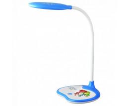 Настольная лампа декоративная Эра NLED-433 NLED-433-6W-BU