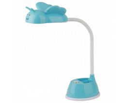 Настольная лампа декоративная Эра NLED-434 NLED-434-6W-BU