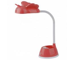Настольная лампа декоративная Эра NLED-434 NLED-434-6W-R