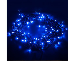 Гирлянда Нить [5 м] Eurosvet 400 400-001 голубой