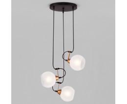 Подвесной светильник Eurosvet Bounce 50175/3 черный
