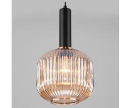 Подвесной светильник Eurosvet Bravo 50182/1 янтарь