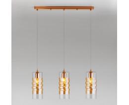 Подвесной светильник Eurosvet Block 50185/3 золото