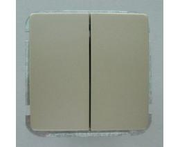 Выключатель двухклавишный без рамки Imex 1122L 1122L-S300