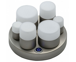 Настольная лампа декоративная DeMarkt Морфей 710030406