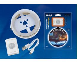 Комплект с лентой светодиодной [1 м] Uniel Smart Light ULS-R21-2,4W/4000K/1,0M/RECH SENSOR Smart Light блистер