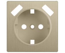 Накладка для розетки USB Werkel WL10 WL10-USB-CP (Шампань рифленый)