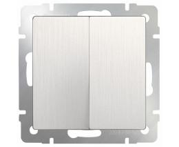 Выключатель двухклавишный без рамки Werkel WL13 WL13-SW-2G
