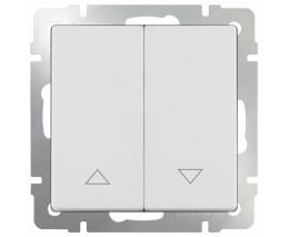 Выключатель для жалюзи Werkel WL01 WL01-01-02 (Белый)